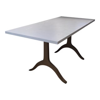 Stone Top Custom Dining Table For Sale