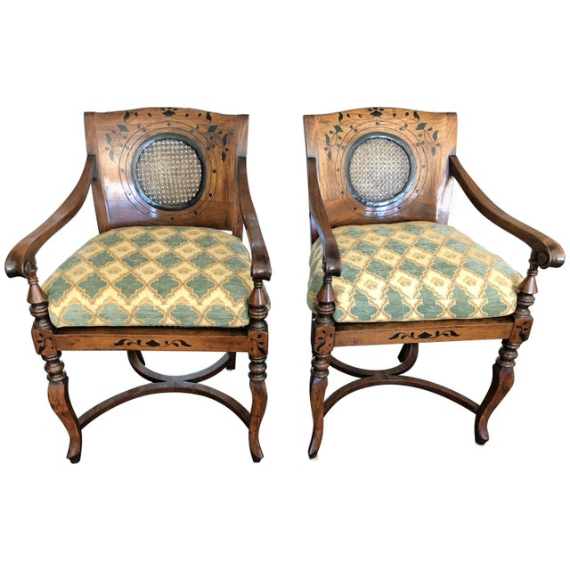 Anglo-Portuguese Armchairs - a Pair For Sale - Image 10 of 10