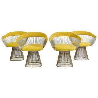 1960s Vintage Warren Platner Dining Chairs - Set of 4