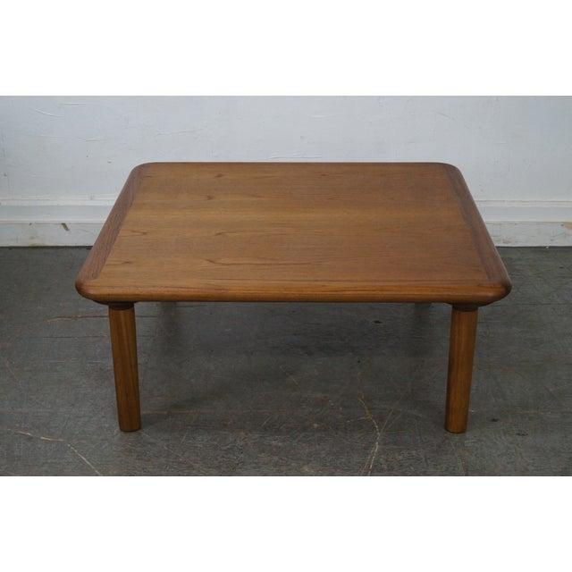 Danish Modern Square Teak Coffee Table Chairish