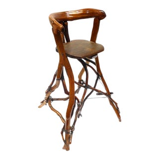 Primitive Twig High Chair For Sale