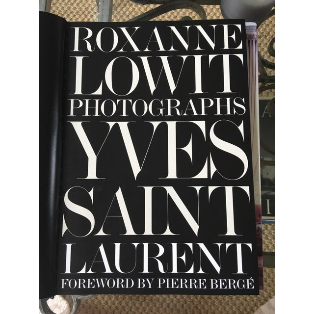 Rare YVES ST LAURENT Photographs coffee table Book With Forward By Pierre Berge. Fascinating photos of YSL from early to...