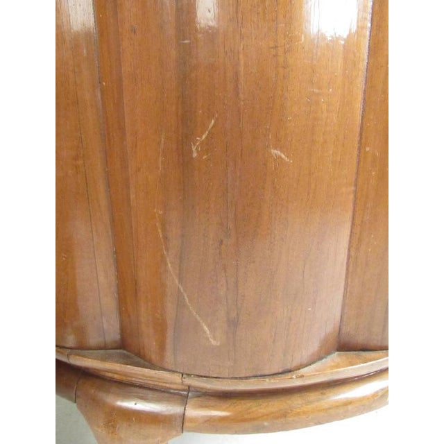 Vintage Barrel Back Italian Side Chairs - A Pair For Sale - Image 10 of 11