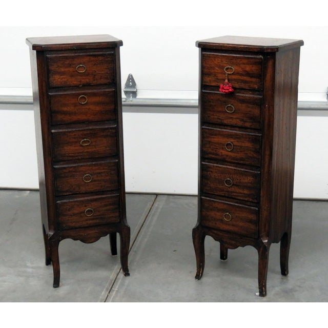 Louis XV Style Lingerie Chests - a Pair For Sale - Image 11 of 11