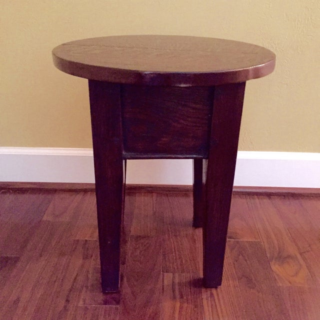 19th Century Round Topped Side Table - Image 2 of 8