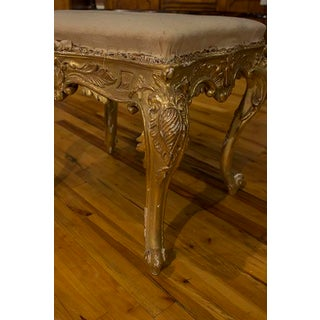 Italian Giltwood Stool Preview
