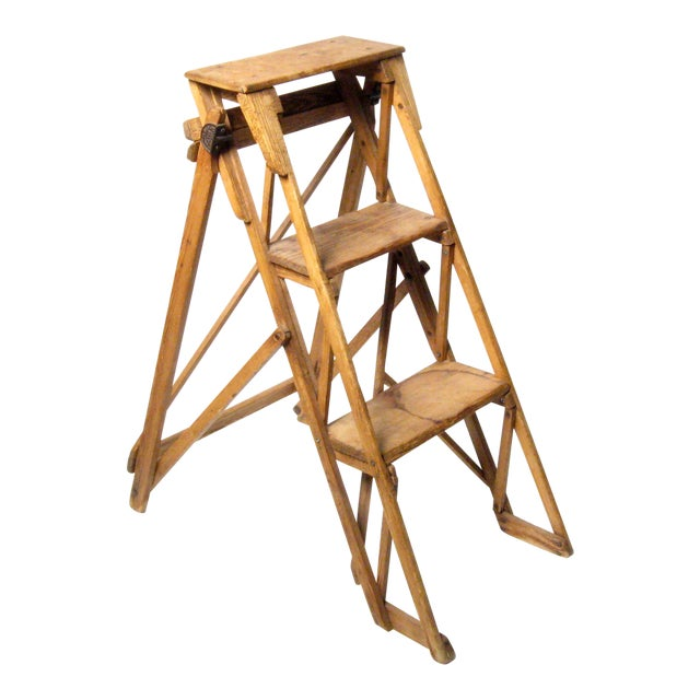 19th C. Hatherley Step Ladder For Sale