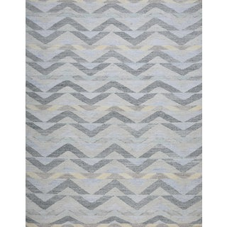 Schumacher Patterson Flynn Martin Solona Hand Woven Geometric Rug For Sale