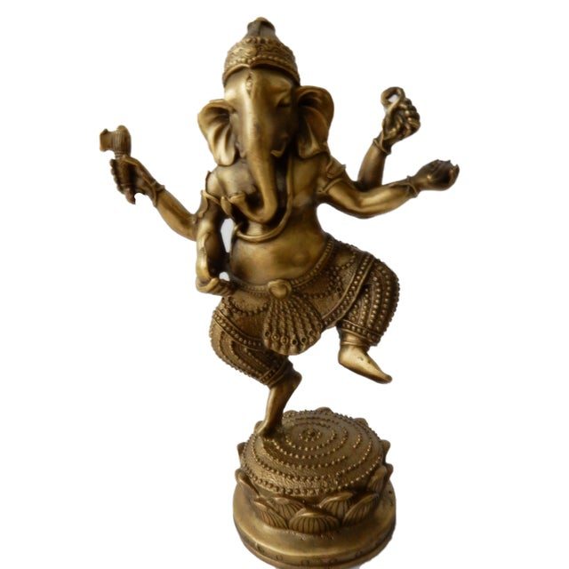 Bronze Lord Ganesh Sculpture , Lord Ganesh, the Remover of Obstacles, is rich in symbolism used as spiritual guides. Each...