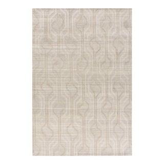 Stark New Oriental Tibetan Tan Wool Rug - 8′ × 10'