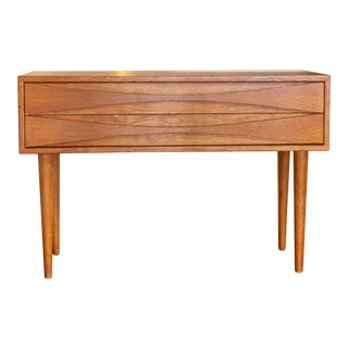 Mid Century Modern Danish Nc Mobler Nightstand For Sale
