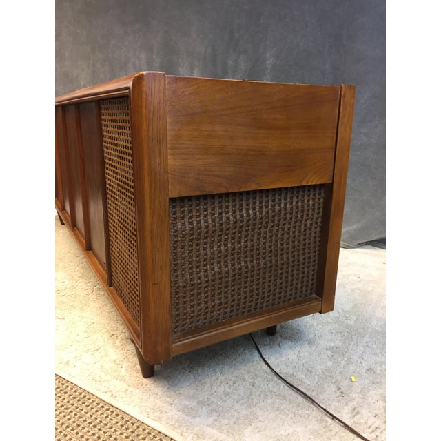 Mid Century Modern Magnavox Console Record Player For Sale - Image 5 of 11