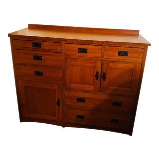 Mission Dresser Cabinet For Sale