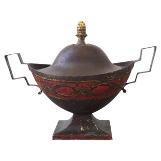 19th C. French Tole Urn