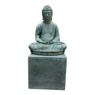 Vintage Stone Amitabha Buddha For Sale
