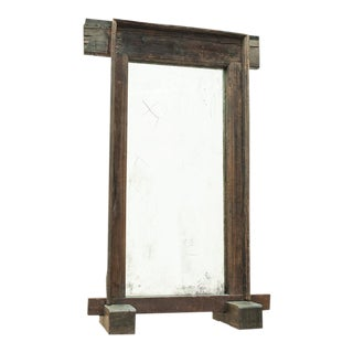 Sarreid Ltd. Vintage Door Frame With Aged Mirror