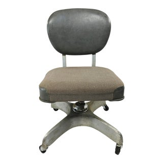 Vintage Industrial Swivel Office Chair by Emeco For Sale