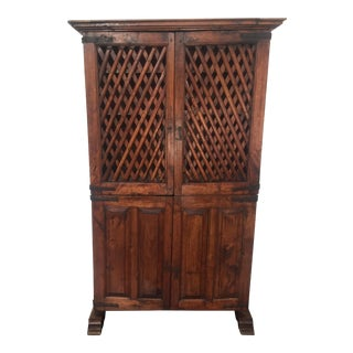 18th C. Wooden Bar Cabinet