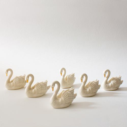 Gilded Swan Place Card Holders - Set of 7 - Image 2 of 3