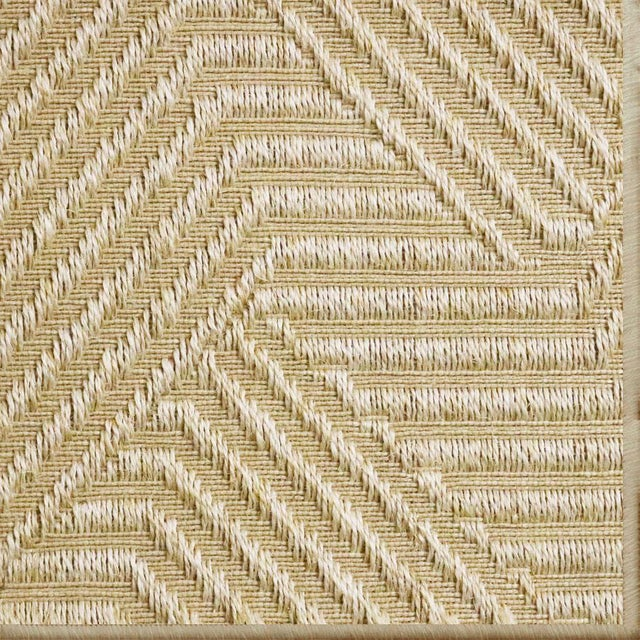 """Natural Rugs Jazz Straw 100% Sisal Rug- 2'6"""" x 9' For Sale - Image 4 of 4"""
