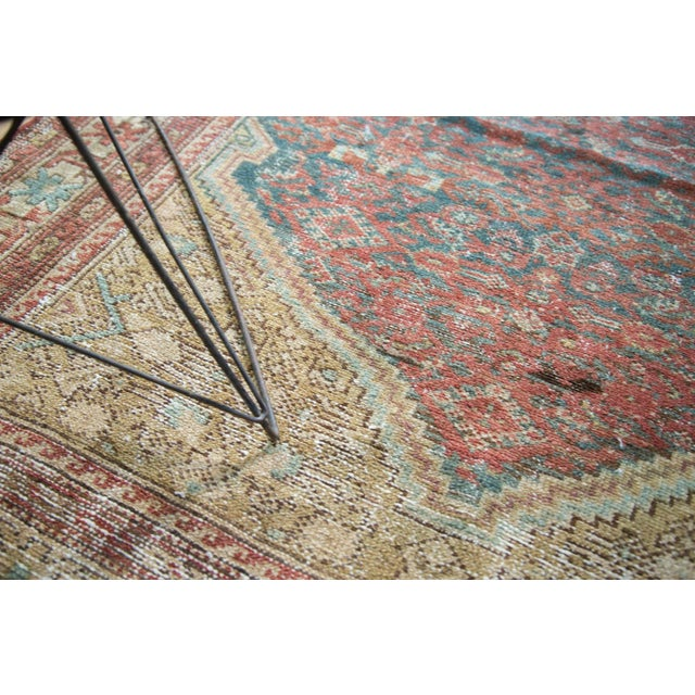 "Antique Malayer Rug - 4'1"" x 6'7"" - Image 9 of 10"