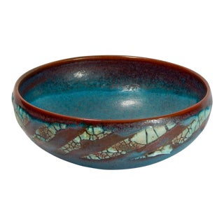 RELICWARE EARTHENWARE BOWL #81 BY ANDREW WILDER
