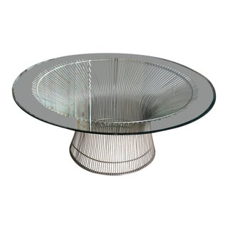 Warren Platner for Knoll Coffee Table For Sale