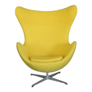 Properly Restored Arne Jacobsen Egg Chair