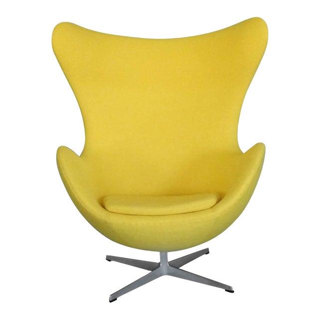 Properly Restored Arne Jacobsen Egg Chair For Sale