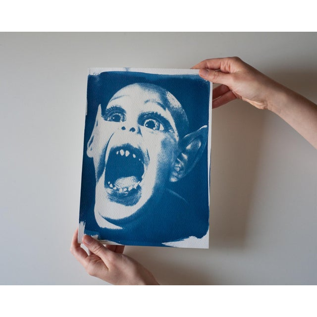 Limited Edition Cyanotype Print- Bat Boy - Image 4 of 4