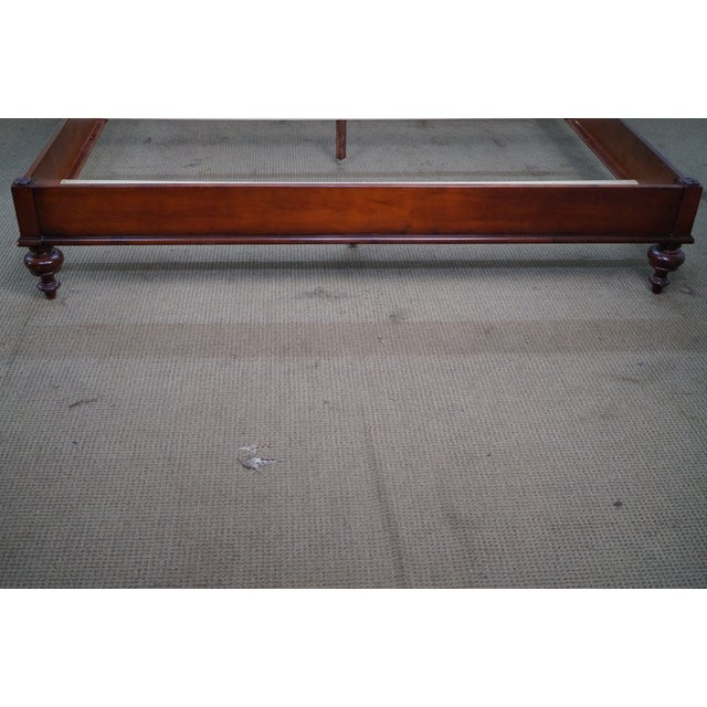 Ethan Allen Ethan Allen British Classics King Size Kingston Bed For Sale - Image 4 of 10