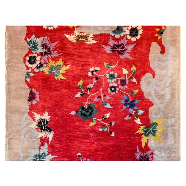 Art Deco Chinese Art Deco Rug For Sale - Image 3 of 10