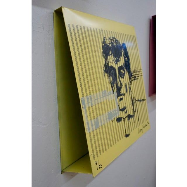 Metal Larry Rivers Steel Painted Pieces in Original Plywood Box- Set of 4 For Sale - Image 7 of 10