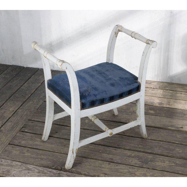 Small French Empire Style Bench For Sale - Image 10 of 11