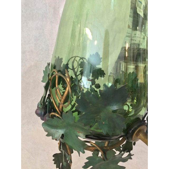 Italian 1980s Vintage Decorative Wine Decanter Dispenser For Sale - Image 3 of 6