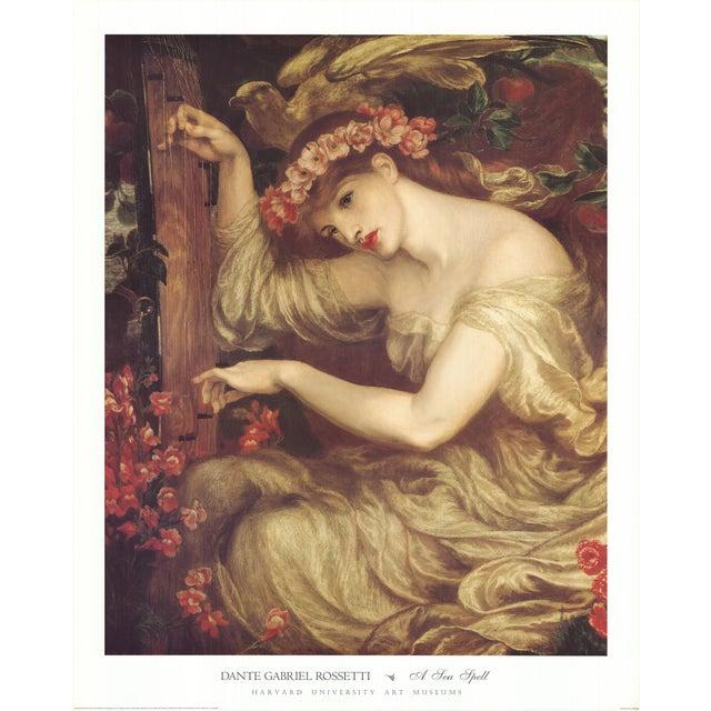 Illustration Dante Gabriel Rossetti- a Sea Spell For Sale - Image 3 of 3