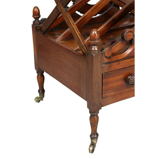 William IV Mahogany Canterbury For Sale In Boston - Image 6 of 11
