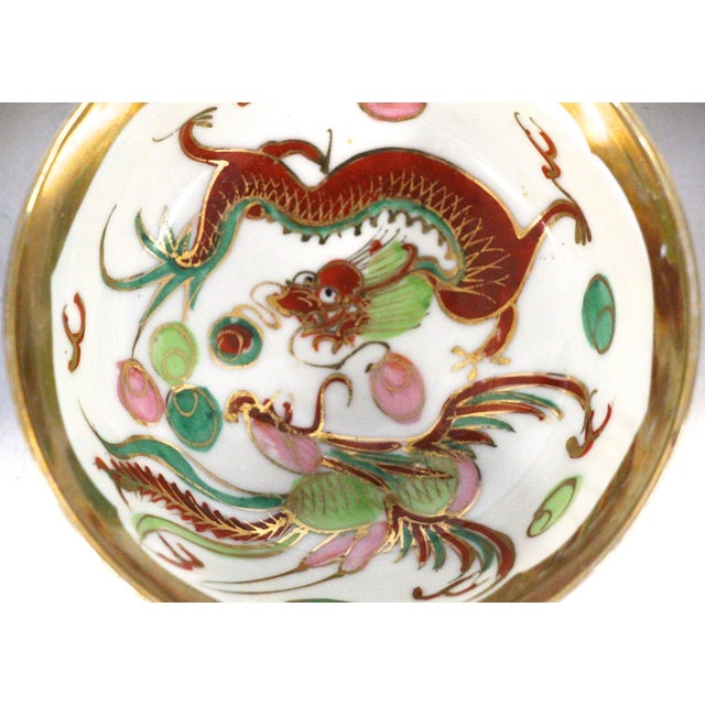 Chinese Porcelain Soup Bowl Set - 6 Pieces For Sale In Richmond - Image 6 of 6