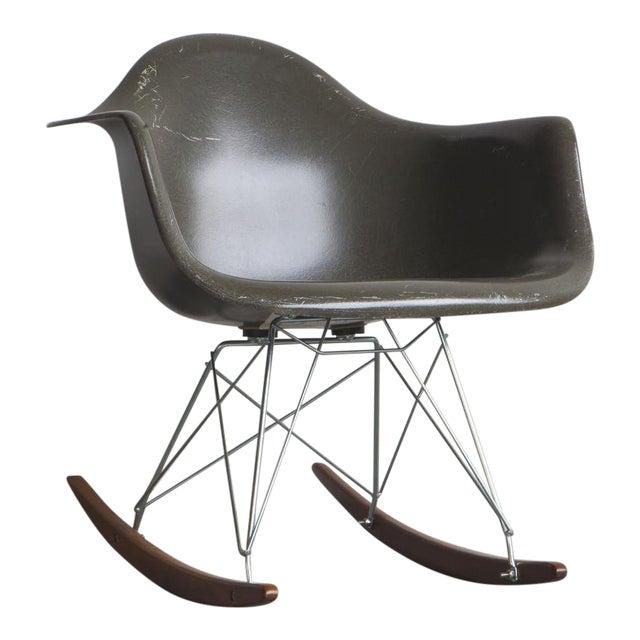 1950s Mid-Century Modern Eames Rocker For Sale