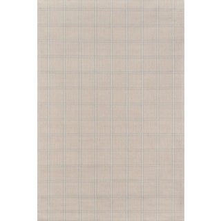 Erin Gates Marlborough Dover Beige Hand Woven Wool Area Rug 5' X 8' For Sale