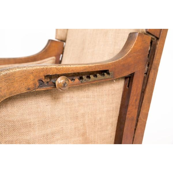 Reclining Wing Chair - Image 6 of 6