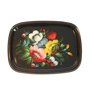 Russian Tole Painted Tray