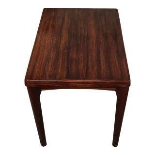 Vejle Stole Mobelfabrik Danish Rosewood Side Table