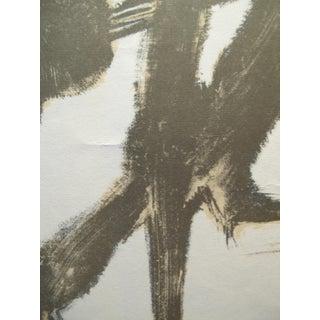 1956 Original Exhibition Poster, La Calligraphie Dans l'Art Japonais Contemporain (Calligraphy in Japanese Contemporary Art) Preview