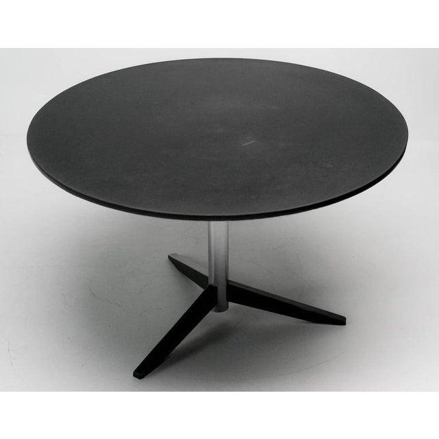 Enamel Dining Table Model Te06 in Slate by Martin Visser for 't Spectrum For Sale - Image 7 of 8