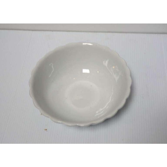 English Traditional 19th Century Large English Ironstone Serving Bowl For Sale - Image 3 of 6