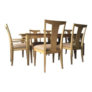 Ethan Allen Maple Dining Room Set