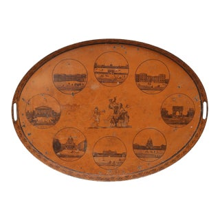 Early 19th Century Directoire Tôle Tray For Sale