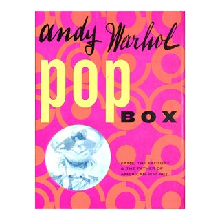 Andy Warhol Pop Box For Sale
