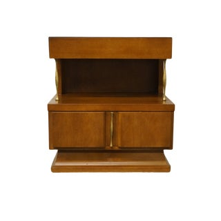 """American of Martinsville Mid-Century Modern 23"""" Two Drawer Nightstand 2430 For Sale"""